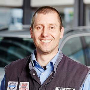 Marcus Schneider, Serviceberater/ Werkstattmeister - der Mann mit technischem Sachverstand