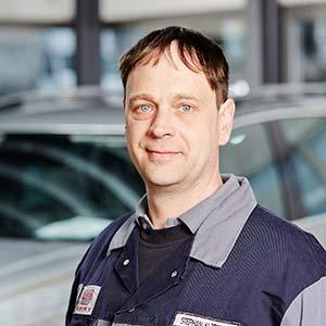 Stephan Klötzner, Unser Servicetechniker, Elektronik ist sein Steckenpferd