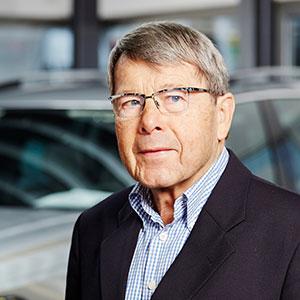Helmut Leib, Seniorchef meistens im Ruhestand/ Urlaubsvertretung